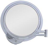 Zadro 5x Surround Light Wall Mount Makeup Magnification Mirror Chrome Sw35