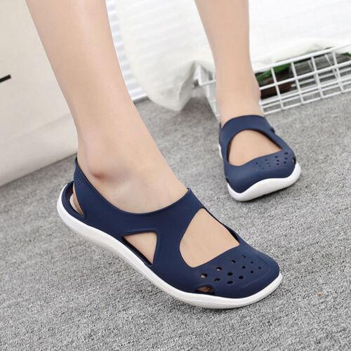 Women Soft bottom Jelly Sandals Non-slip Wild Beach Hole Shoes Plastic Sandals.