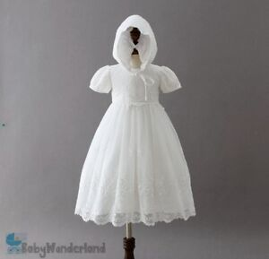 Toddler Baby Girl Christening Baptism Birthday Party Princess Lace Dress 0-2Year