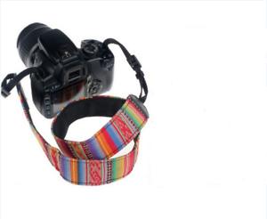 Adjustable Camera Shoulder Sling Belt Neck Strap for Nikon Canon Sony DSLR SLR 695974815370