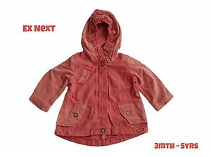 1961e385c52e Girls Coat Baby Jacket Spring Summer Raincoat Lightweight 3Mth ...