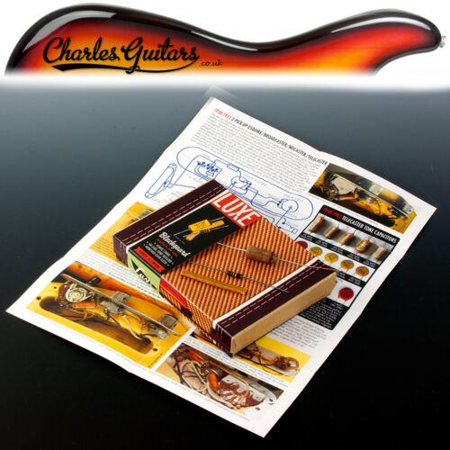 LUXE 1951-1952 BLACKGUARD//NOCASTER PAPER /& FOIL CAPACITOR KIT LX11028