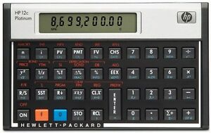 Hewlett-Packard-hp-12C-Platinum-Financial-Calculator-CFA-Algebraic-RPN