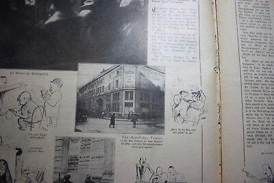 1928 Ill. Presse 37 / Paris Hotel Drouot / Schach Kissingen / Chaplin / Zeppelin