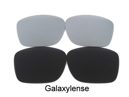 Galaxy Replacement Lenses For Arnette Witch Doctor Black//Titanium Polarized