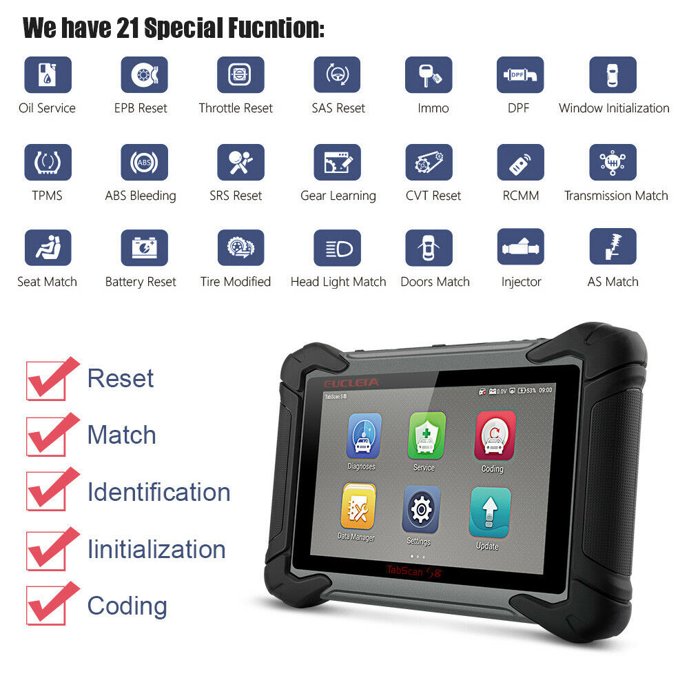 Bi Directional Scan Tool >> Details About Full Systems Diagnostic Scan Tool Bi Directional J2534 Programming Coding Tools