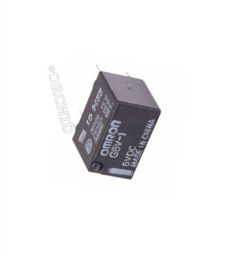 1Pcs 5V G5V-1-5VDC Signal Relay 6 Pin For Omron Relay er