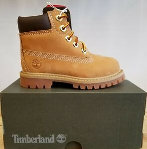 Details about NEW IN THE BOX TIMBERLAND TODDLER 6 INCH PREMIUM WATERPROOF BOOTS FOR TODDLER