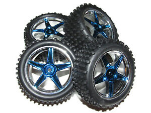Redcat-Tornado-EPX-Pro-4x4-Brushless-Buggy-Front-amp-Rear-12mm-Wheels-amp-Tires