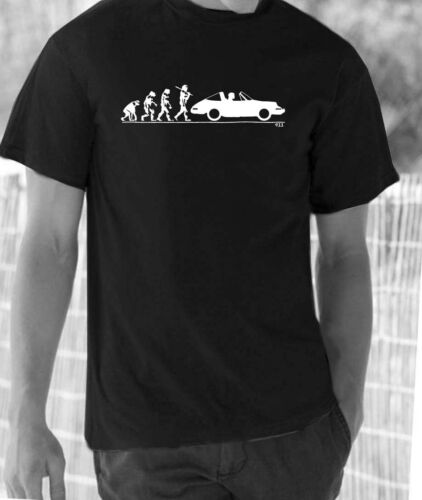 Evolution of Man classic 911 Targa  t-shirt