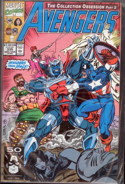 A1   AVENGERS THE COLLECTION OBSESSION PART 2 - N. 335 -  IN LINGUA INGLESE