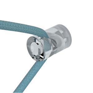 Image is loading Transparent-039-V-039-decentraliser-cable-ceiling-hook-