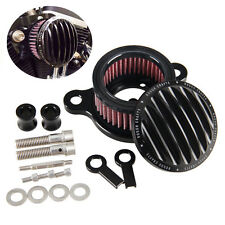 Air Cleaner Intake Filter System Kit For Harley Sportster XL883 XL1200 1991-2016