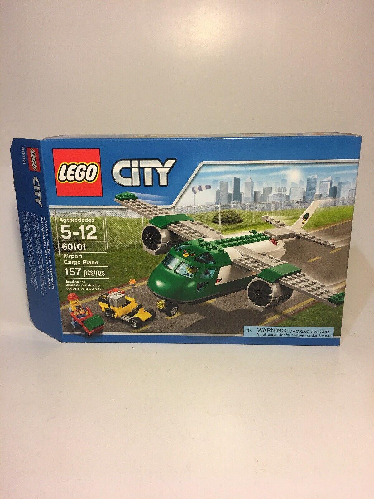 (1-Empty Box Only) For LEGO SET 60101 CITY AIRPORT CARGO PLANE - No Legos Inside