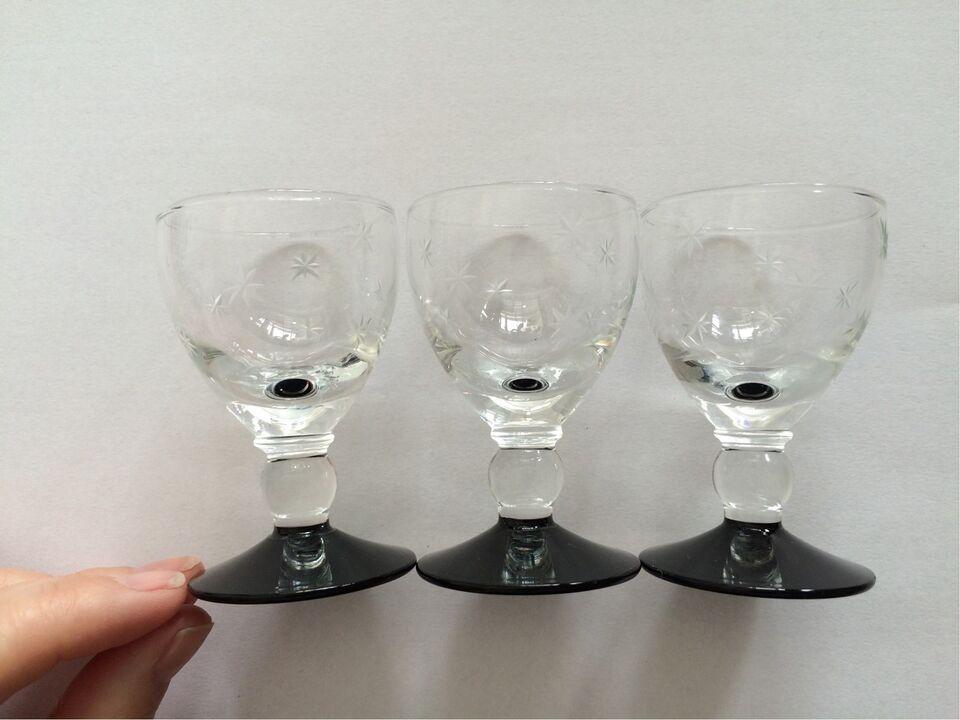 Glas, Snapseglas/shotglas, Holmegaard