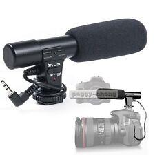 Sidande MIC-01 3.5mm DV Stereo Microphone Mic For Canon Nikon DSLR Camera Video