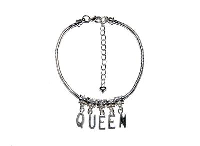 Queen of Spades Gangbang euro Tobillera Tobillo Cadena Joyería QoS cornudo ramera GBS8