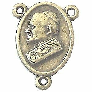 "Pope John Paul II - center piece - Bronze (1.6cm-0.63"" )"