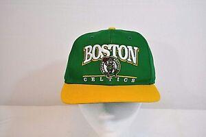 62fd4353eb992d Boston Celtics Baseball Cap Green/Yellow NBA 47 Brand poly/cotton ...