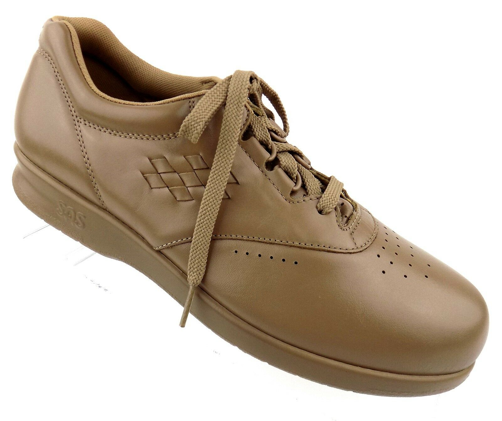 SAS femmes Oxford Walking chaussures Taille 9.5N Tripad Comfort Mocha Leather Lace Up