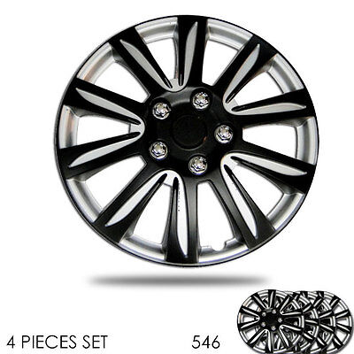 For Toyota New 15 inch Hubcaps Silver Rim Wheel Covers Hub Cap Full Lug Skin 547
