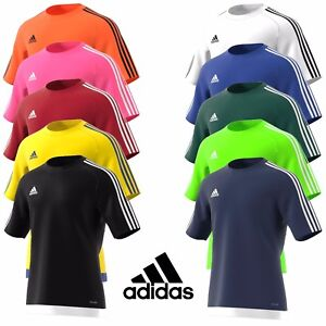Mens-Adidas-Estro-Training-T-Shirt-Football-Sports-Top-Gym-Size-S-M-L-XL-XXL
