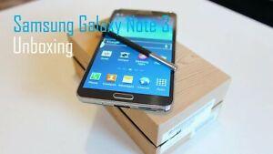 New Unopened Samsung Galaxy Note 3 N9005 Unlocked Smartphone Black 16gb Ebay