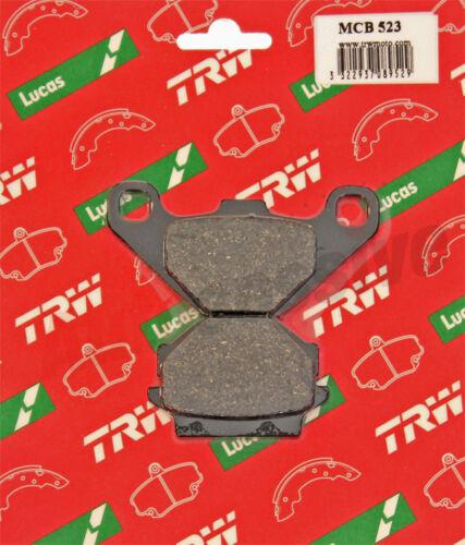 TRW Lucas Front Pair Motorcycle Brake Pads Set MCB523 Kawasaki KH 125 KH125 82