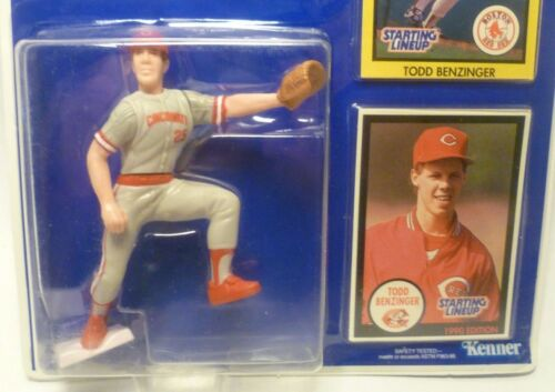 Cincinnati Reds 1990  TODD BENZINGER Sports Figurine Starting Lineup SLU