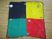 Baby Einstein Swaddle Layette Security Activity Blanket Play Mat Blue Red