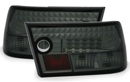 tail lights rear lights set in black smoked finish for OPEL CALIBRA