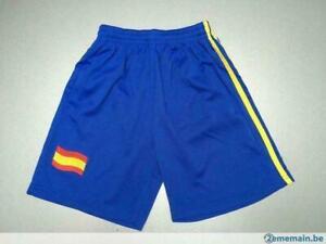 Responsable Short Espagne - Taille 8 Ans (sfou)
