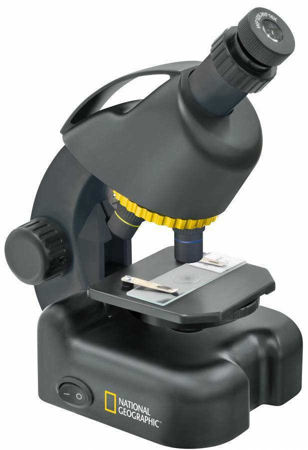 NATIONAL GEOGRAPHIC 40-640X MICROSCOPE INCL. SMARTPHONE ADAPTER