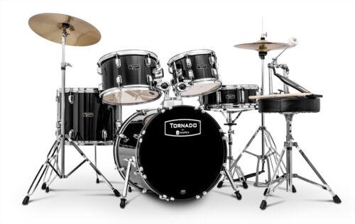 Mapex Tornado Einsteger Drumset Fusion Schlagzeug Black TND5044TC Schwarz Drums