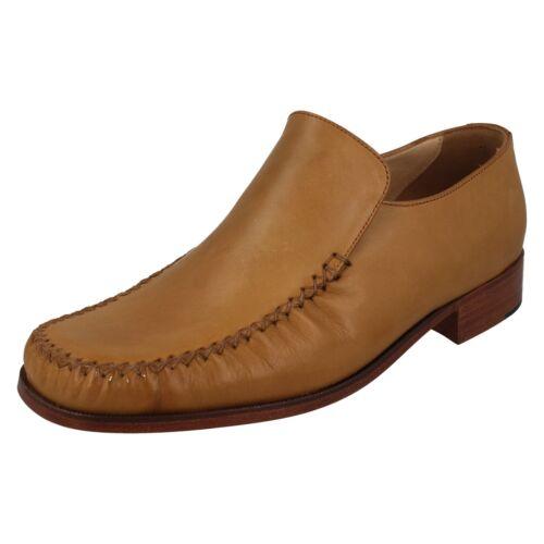 marrone Shoes Slip chiaro Mens On Colorado Mocassino Casual Grenson Mocassino Plain AwBn4q