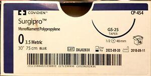 Covidien-Surgipro-cp454-0-18-034-gs-25-Taper-48mm-34-box-EXP-09-30-2024