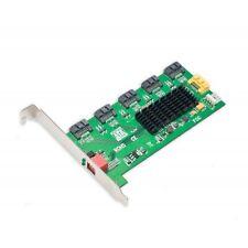 Syba SY-PCI40037 5 Port SATA II Port Multiplier RAID 0 / 1 / 3 / 5 / 1+0 Card
