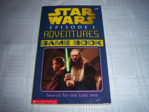 1 of 1 - Star Wars Episode 1 Adventures Game Book ( Search for the lost Jedi) Book