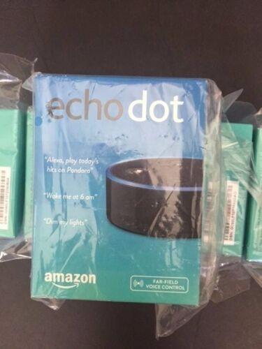 Brand New Sealed Amazon Echo Dot 2nd Generation w// Alexa Voice Black