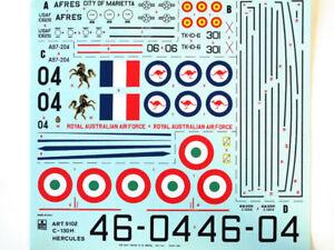 Esci-9102-Vintage-Stickers-C-130H-Hercules-1-72-Modelisme