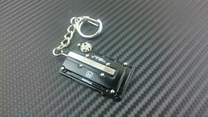 P2M Phase 2 Metal Valve Cover Key Chain Honda B-Series Motor Black P2-KYCHONB-B
