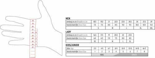 LEKI Nordic Move Shark schwarz/gelb/weiß Nordic Walking & Skating Handschuhe