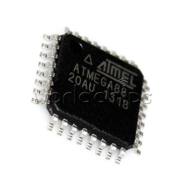IC ATMEGA88-20AU ATMEGA88 IC AVR MCU 8K 20MHZ 5V 32TQFP New