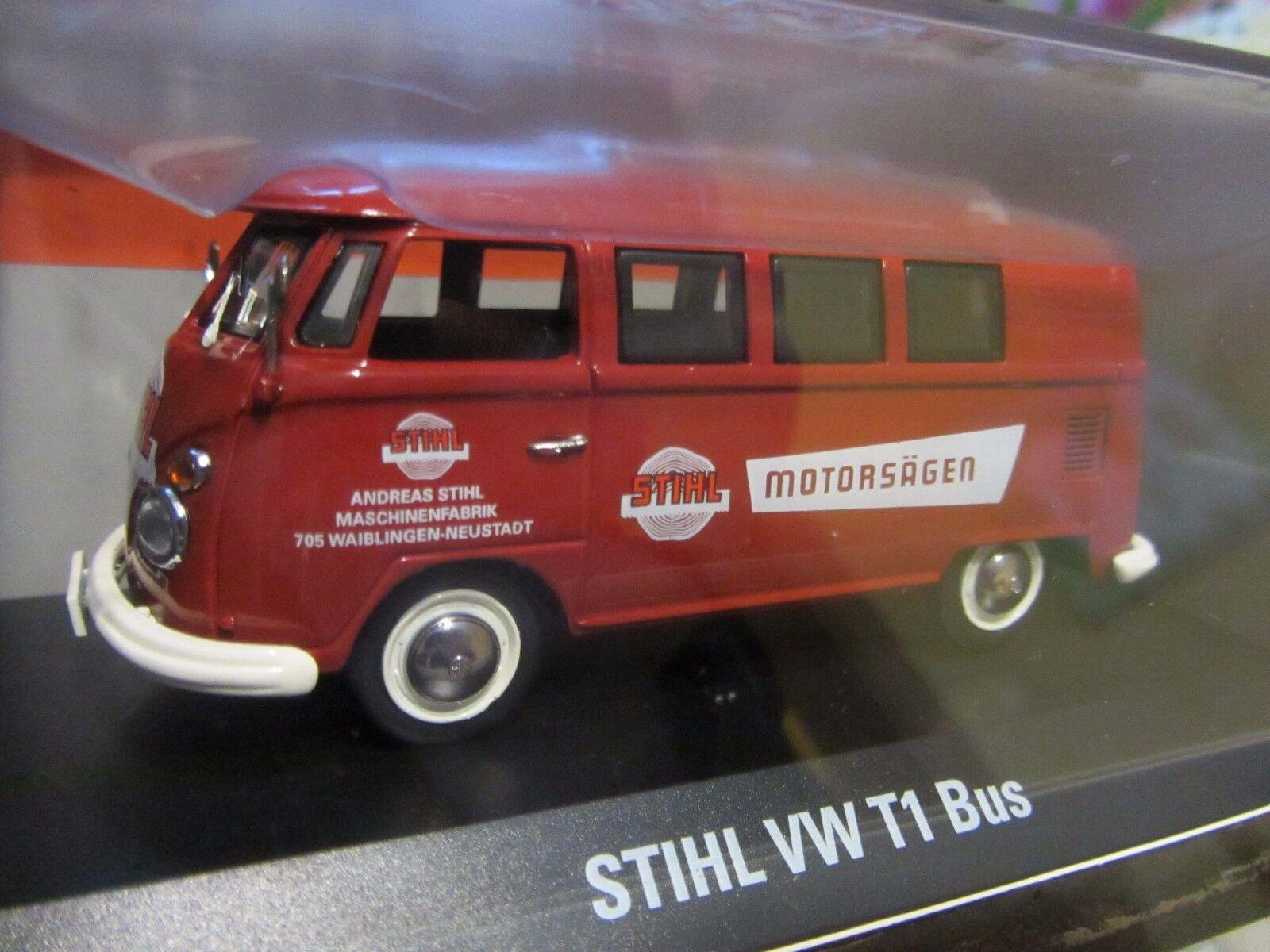 STIHL VW T1 Bus Modell 1955 Schuco 1 1 1 43 Sammeledition 5c42a8