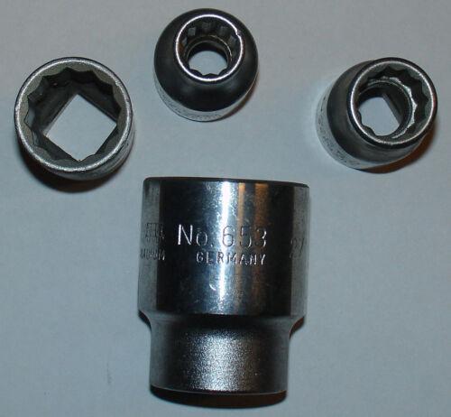 """1//2/"""" Douille 17 mm 12-Kant Ecrou du marques"""