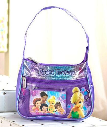 Pixie You Choose Designer Girls/' Handbag Set // Tinker Bell or Dora