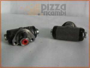 *FRP*COPPIA CILINDRETTO FRENO POSTERIORE FIAT 500 D F L pair rear brake cylinder