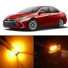 Alla Lighting Rear Signal Light 7440NA Amber LED Bulbs for Toyota Matrix Sienna