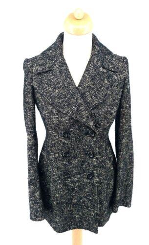 40 Wool Ger 38 Burberry It Pea 6 Usa 36 8 Cotton London Uk Grey Fra Coat E4q64fvwP