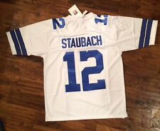 NWT Mitchell & Ness Roger Staubach Throwback Jersey Size 54(2XL) Stitch/sewn On